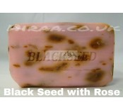 Black seed soap with Rose